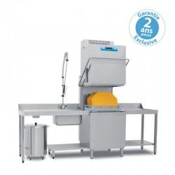 Elettrobar - Lave-vaisselle à capot - Panier 500 x 600 mm - RIVER282LRV1