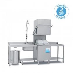 Elettrobar - Lave-vaisselle à capot avec affichage digital - Panier 500 x 500 mm - PLUVIA280DG