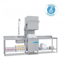 Elettrobar - Lave-vaisselle à capot - Panier 500 x 500 mm - NIAG281V1