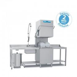 Elettrobar - Lave-vaisselle à capot - NIAG282V1 - Panier 500 x 500 mm