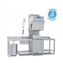 Elettrobar - Lave-vaisselle à capot - Panier 500 x 500 mm - RIVER282RV1