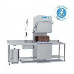 Elettrobar - Lave-vaisselle à capot - NIAG282LV1 - Panier 500 x 500 mm