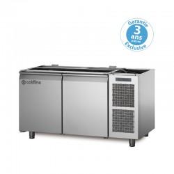 Coldline - Saladette GN1/1 positive - Groupe logé - 2 portes - 145 litres