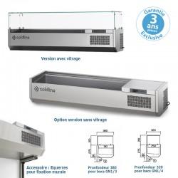 Coldline - Vitrine réfrigérée positive pour bacs GN 1/3 ou GN1/4 - VP209