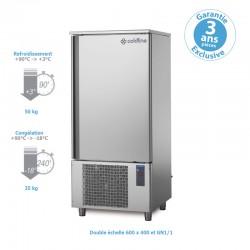 Coldline - Cellule de refroidissement mixte - Groupe logé - 50/35 KG - 14 double niveaux 600 x 400 et GN1/1 - W14TEN
