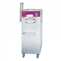 Furnotel - Machine à glace SOFT - SÉRIE SOFTGEL - Débits intensifs - 3 Becs - 3 Parfums - 27 litres / heure - SOFT336A