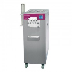 Furnotel - Machine à glace SOFT - SÉRIE SOFTGEL - Débits intensifs - 3 Becs - 3 Parfums - 27 litres / heure - SOFT336P