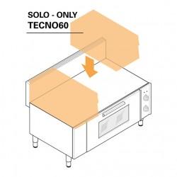 Tecnoinox - Soubassement four électrique ventilé - Gamme 600 - BF105E