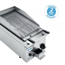 Tecnoinox - Grill charcoal simple gaz - Gamme 700 - GR35G7