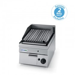 Tecnoinox - Grill charcoal simple gaz - Gamme 600 - GR35GG6