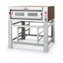 Italforni - Four à pizza - Série TK - 1 chambre - 9 pizzas - Commandes mécaniques - TK1C