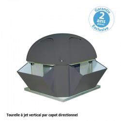 Furnotel - Tourelle 2 vitesses - Triphasée - Refoulement horizontal ou vertical