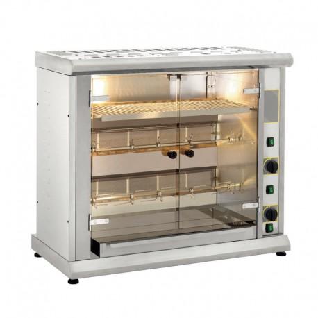 Furnotel - Rôtissoire à 2 broches gaz - 8 poulets - RBG80