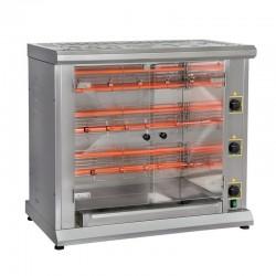 Furnotel - Rôtissoire à 3 broches électrique - 12 poulets - RBE12