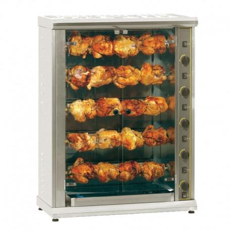 Furnotel - Rôtissoire à 5 broches électrique grande capacité - 20 poulets - RBE20