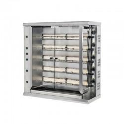 Furnotel - Rôtissoire gaz de marché grande capacité - 30 poulets - RBG30
