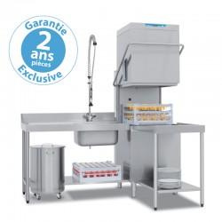 Elettrobar - Lave-vaisselle à capot - Panier 500 x 500 mm - RIVER 282