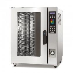Inoxtrend - Four XT SIMPLY - Mixte à injection directe - Commandes électroniques programmables à écran tactile - 12 kW - RDT110E