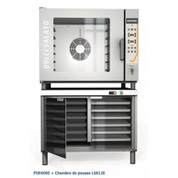 Inoxtrend - Four électrique mixte spécial boulangerie / pâtisserie - XT PASTRY - 6 niveaux 600 x 400 - 9 kW - PUE606E