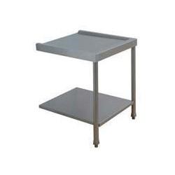 Table entrée/sortie pour machines à paniers 500 x 500 ou 600 x 500 - 80202