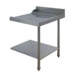 Table entrée/sortie pour machines à paniers 500 x 500 ou 600 x 500 - 80200