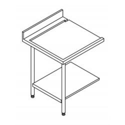 Table entrée/sortie pour machines à paniers 500 x 500 ou 600 x 500 - 80201