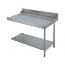 Table entrée/sortie pour machines à paniers 500 x 500 ou 600 x 500 - 80204