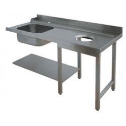Table d'entrée avec évier + TVO - 75448
