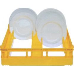 Panier carré pour 15 assiettes plates Ø 28 cm ou 12 creuses à partir du Ø 18 cm - 52700
