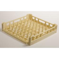 Panier carré pour plateaux - Fond plat - Polypropylène - 780106