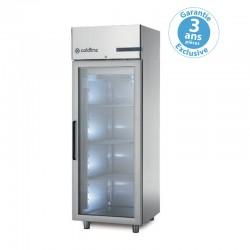 Coldline - Armoire réfrigérée négative MASTER - 1 porte vitrée - 600 L