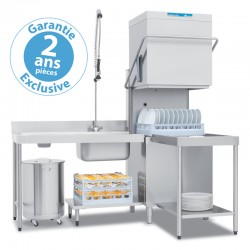 Elettrobar - Lave-vaisselle à capot - Panier 500 x 500 mm - NIAG283L