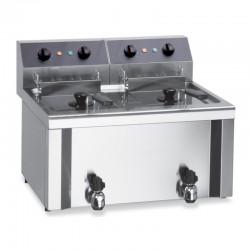 Furnotel - Friteuse électrique de table - 2 bacs 9 litres - E314