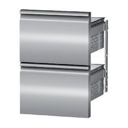Coldline - Tiroir pour tables positives et négatives - Profondeur 700 - GN 1/1 - Kit 2 tiroirs 1/2 - D623012020