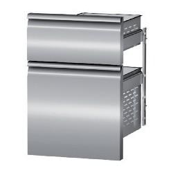 Coldline - Tiroir pour tables positives et négatives - Profondeur 800 - 600 x 400 - Kit 2 tiroirs 1/3 + 2/3 - D623023120
