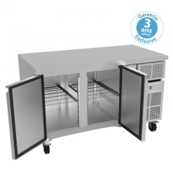 Furnotel - Table réfrigérée négative - 2 portes - 313 litres