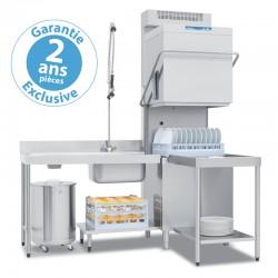 Elettrobar - Lave-vaisselle à capot - Panier 500 x 600 mm - RIVER285L