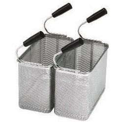 Tecnoinox - Kit 2 paniers de cuiseur à pâtes GN1/3 - 290 x 145 x 200 mm - 120620
