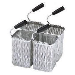 Tecnoinox - Kit 4 paniers de cuiseur à pâtes GN1/6 - 140 x 140 x 200 mm - 120625