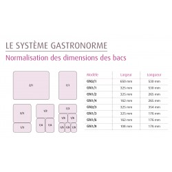 Bac GN 2/3 - Prof. 150 mm - B20587