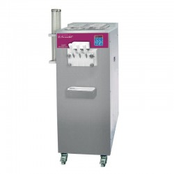 Furnotel - Machine à glace SOFT - SÉRIE SOFTGEL - Débits intensifs - 3 Becs - 3 Parfums - 36 litres / heure - SOFT348P