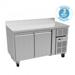 Furnotel - Table réfrigérée positive - 2 portes - 427 litres