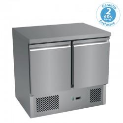 Furnotel - Table réfrigérée positive GN 1/1 - 2 portes - 257 litres