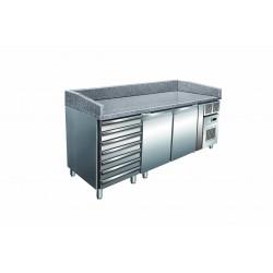 Furnotel - Table à pizza réfrigérée - 427 litres - PZ2610