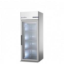 Coldline - Armoire réfrigérée à chariot positive - GN2/1 et 600 x 400 - Groupe logé - 1 porte vitrée - 830 litres - J1001MV-2