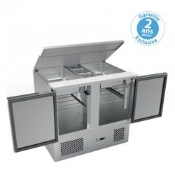 Furnotel - Table réfrigérée positive GN 1/1- 2 portes - SLD901