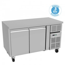 Furnotel - Table réfrigérée positive - 2 portes - 313 litres