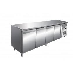 Furnotel - Table réfrigérée négative - 4 portes - 616 litres