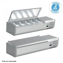 Furnotel - Vitrine réfrigérée pour bacs GN 1/4 - 150 W - VRC151GN14