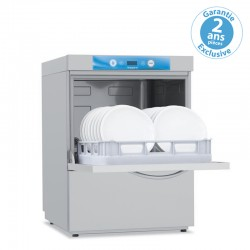 Elettrobar - NIAGARA - Lave-vaisselle sans adoucisseur - Panier 500 x 500 mm - Commutable en 230 V - NIAG261MV1